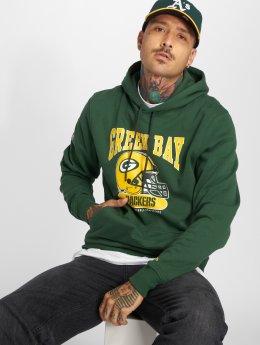 New Era Sudadera NFL Archie Green Bay Packers verde