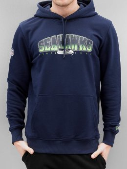 New Era Sweat capuche NFL Fan Seattle Seahawks bleu