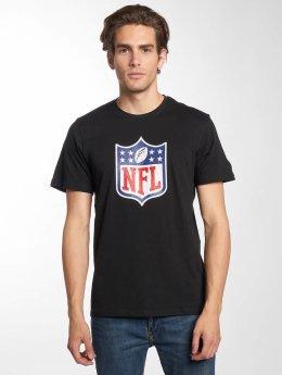 New Era T-paidat NFL Generic Logo Lightweight musta