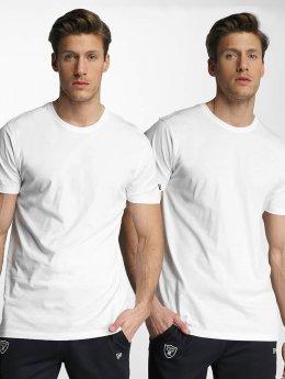 New Era T-paidat 2er Pack Pure valkoinen