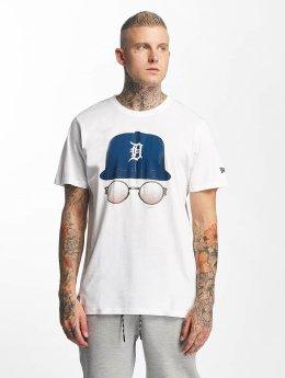 New Era T-Shirt MLB Cap And Shades Detroit Tigers blanc
