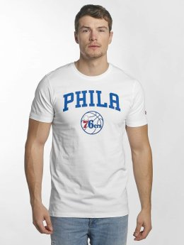 New Era T-Shirt Team Logo Philadelphia 76ers blanc