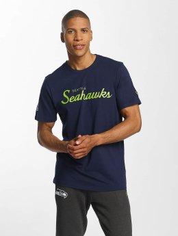 New Era t-shirt Seattle Seahawks blauw