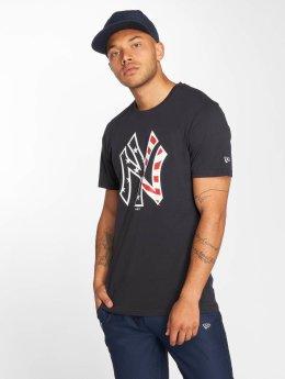 New Era t-shirt Team Apparel NY Yankees Infill blauw