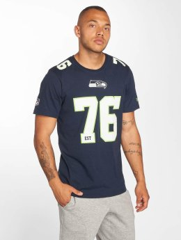 New Era t-shirt Dryera Seattle Seahawks blauw