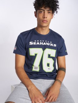 New Era T-Shirt NFL Supporters Seattle Seahawks bleu