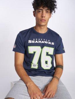 New Era T-shirt NFL Supporters Seattle Seahawks blu