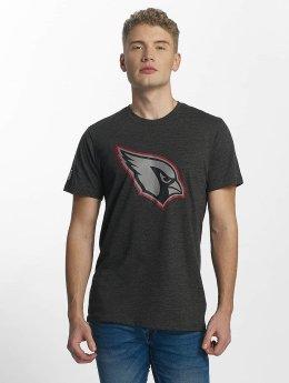 New Era Two Tone Pop Arizona Cardinals T-Shirt Heather Graphite/Offical Team Colour