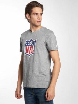 New Era t-shirt NFL Generic Logo Lightweight grijs