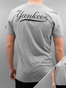 New Era T-Shirt Team Apparel NY Yankees gris