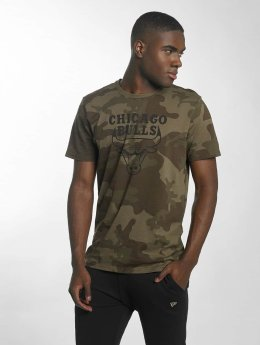 New Era T-Shirt BNG Chicago Bulls Graphic olive