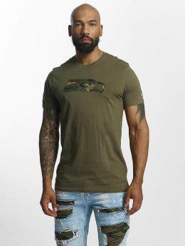 New Era T-Shirt NFL Camo Seattle Seahawks olive