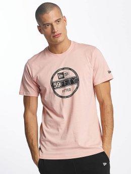 New Era T-Shirt Originators Visor rosa
