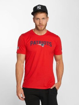 New Era T-Shirt Dryera New England Patriots rot