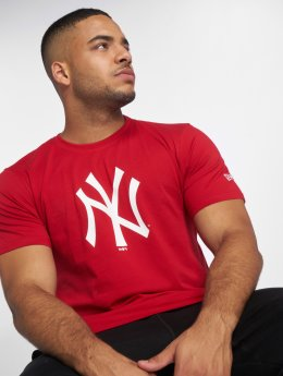 New Era T-Shirt New York Yankees rouge