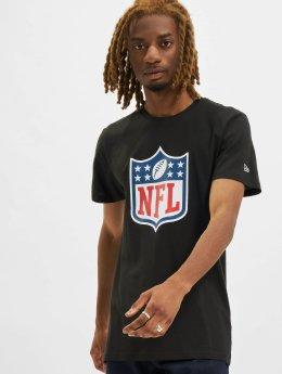 New Era T-Shirt NFL Team Logo  schwarz