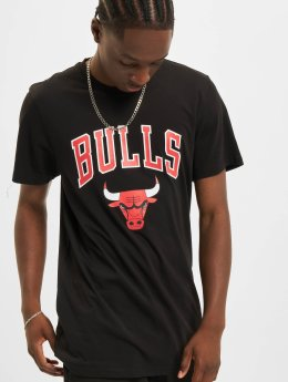 New Era T-Shirt Team Logo Chicago Bulls schwarz