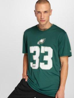 New Era T-shirt NFL Team Supporters Philadelphia Eagles verde