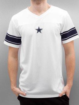 New Era T-Shirt Team Apparel Supporters Dallas Cowboys weiß