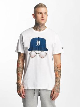 New Era T-Shirt MLB Cap And Shades Detroit Tigers weiß