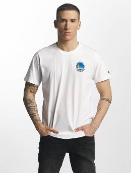 New Era T-Shirt Tip Off Golden State Warriors Chest white