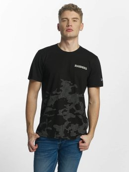 New Era t-shirt Reflective Camo zwart