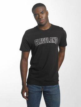 New Era t-shirt BNG Cleveland Cavaliers Graphic zwart