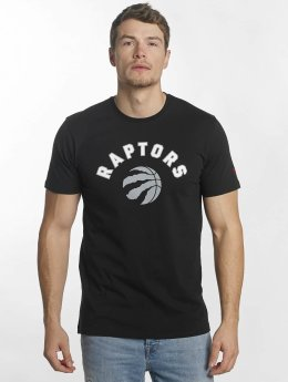 New Era t-shirt Team Logo Toronto Raptors zwart