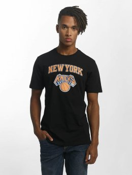 New Era t-shirt Team Logo NY Knicks zwart