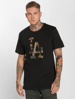 New Era t-shirt Team Apparel LA Dodgers Infill zwart
