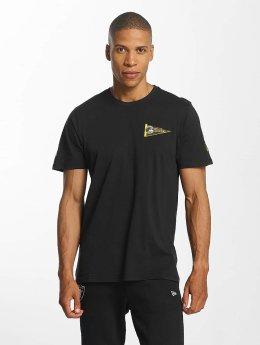 New Era NFL Pennant Pittsburgh Steelers T-Shirt Black