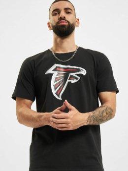 New Era T-Shirty Team Logo Atlanta Falcons czarny