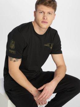 New Era T-Shirty Nfl Camo Collection New England Patriots czarny
