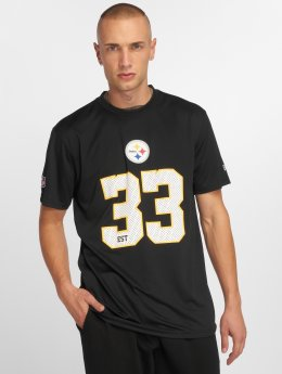 New Era T-Shirty NFL Team Supporters Pittsburgh Steelers czarny