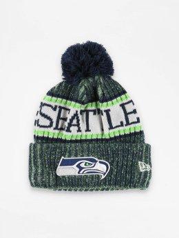 New Era Talvipäähineet NFL Sport Cuff Seattle Seahawks vihreä