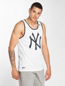 New Era Tank Tops Team Apparel NY Yankees white