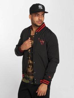 New Era Transitional Jackets NBA Chicago Bulls Varsity svart