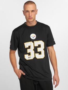 New Era Tričká NFL Team Supporters Pittsburgh Steelers èierna