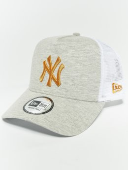 New Era Trucker MLB Essential New York Yankees 9 Fourty Aframe šedá