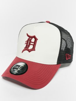 New Era Trucker MLB Nylon Detroit Tigers 9 Fourty Aframe biela