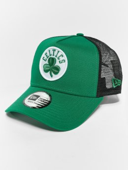 New Era Trucker Cap NBA Team Essential Bosten Celtics 9 Fourty Aframe grün