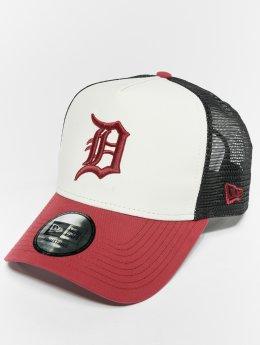 New Era Trucker Cap MLB Nylon Detroit Tigers 9 Fourty Aframe white
