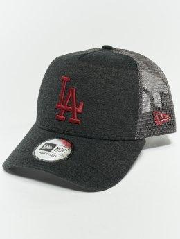 New Era Trucker Caps MLB Essential Los Angeles Dodgers 9 Fourty Aframe šedá