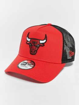 New Era Trucker Caps NBA Team Essential Chicago Bulls 9 Fourty Aframe czerwony