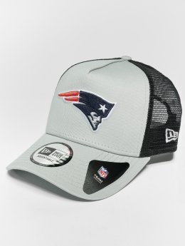 New Era Trucker Caps NFL Team Essential New England Patriots 9 Fourty Aframe grå