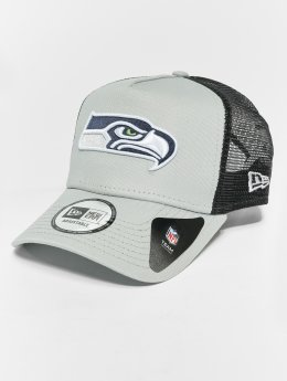 New Era Trucker Caps NFL Team Essential Seattle Seahawks 9 Fourty Aframe grå