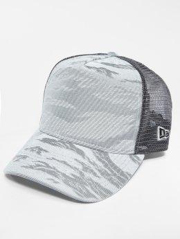 New Era Trucker Caps 3D Camo szary