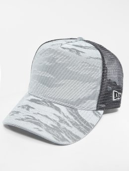 New Era Truckerkeps 3D Camo grå