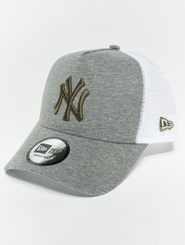 New Era Truckerkeps MLB Essential New York Yankees 9 Fourty Aframe grå