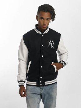 New Era Übergangsjacke Team Apparel Varsity NY Yankees blau